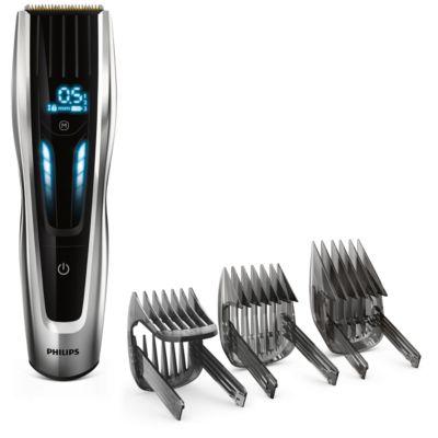 Buy Titaniumknive, hårklipper, motordrevne trimmerkammeHC9450/15 online   Philips Shop