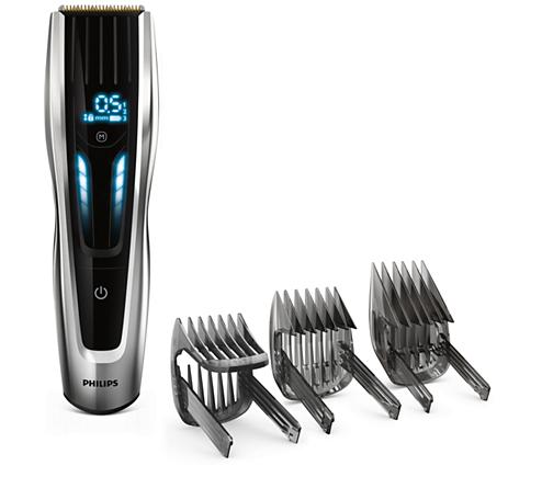Hairclipper series 9000. Den smarta hårklipparen med digital touch screen 6e5f70acd0fde