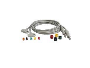 Long Limb Lead Set Diagnostic ECG Patient Cables and Leads