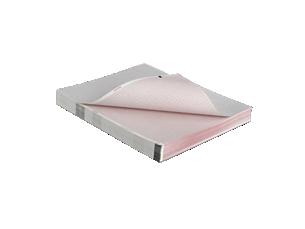 Thermopapier Leporellofalzung
