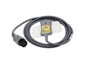 Wiederverwendbares DEKG-Beinplatten-Adapter, GE119 Direktes EKG