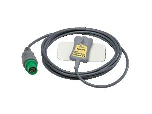 DECG Reusable Legplate Adapter Spacelabs Direct ECG