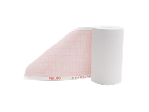MRx Wide printer paper defibrillator recording paper,  Roll