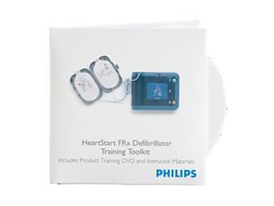 HeartStart FRx Defibrillator-Schulungsset AED-Schulungsmaterial