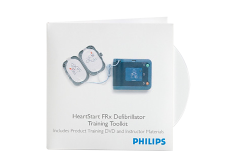 HeartStart FRx Defibrillator Training Toolkit AED Training Materials