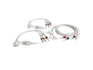 Complete lead set Diagnostic ECG Patient Cables and Leads