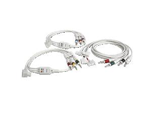 Long Complete Lead Set AAMI Diagnostic ECG Patient Cables and Leads