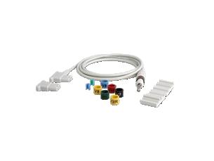 Upgrade-Set 12–15/16Ableitungen, lang EKG-Kabel für diagnostisches EKG