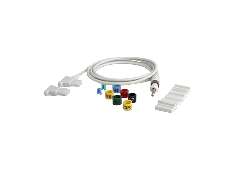 Upgrade Kit 12-15/16 long leads Diagnostic ECG Patient Cables and Leads