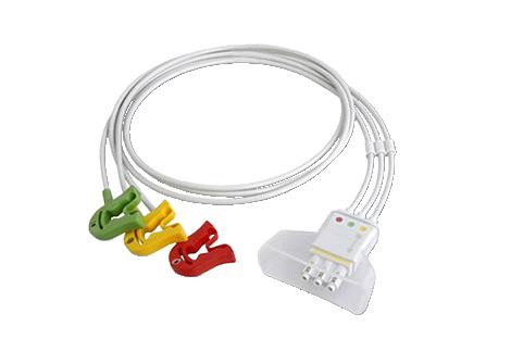 3 lead set Grabber IEC Telemetry Lead Set