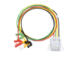 5-adriges Elektrodenkabel, Clip Telemetrie-Elektrodenkabel