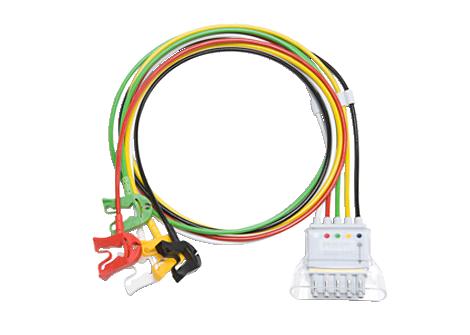 5 lead set Grabber IEC Telemetry Lead Set