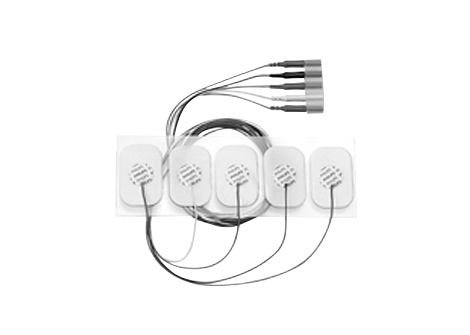 Adult disposable radiolucent 5 Electrode