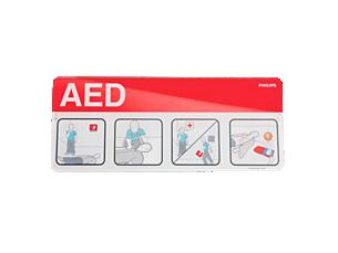 AED-Schilder Zubehör