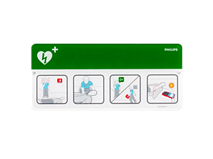AED Awareness Placard Accessories