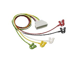 Patient Cable ECG 5-lead Grabber Telemetry Lead Set