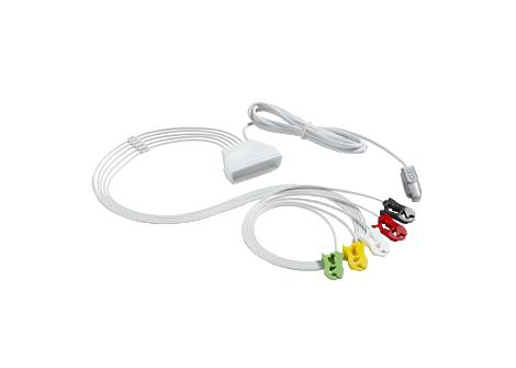 Patient Cable ECG 5 lead Grabber Telemetry Lead Set