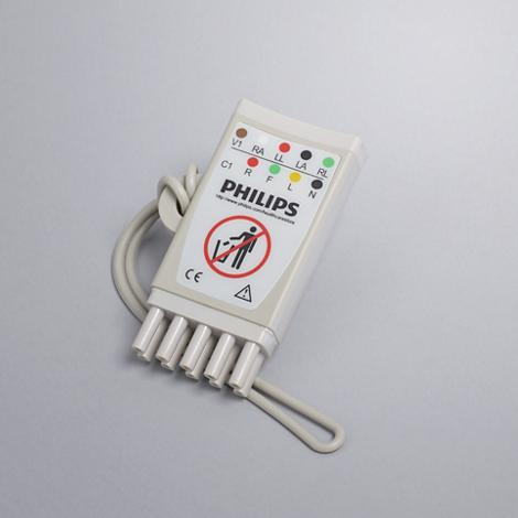 5-adriges EKG-Stammkabel Adapter