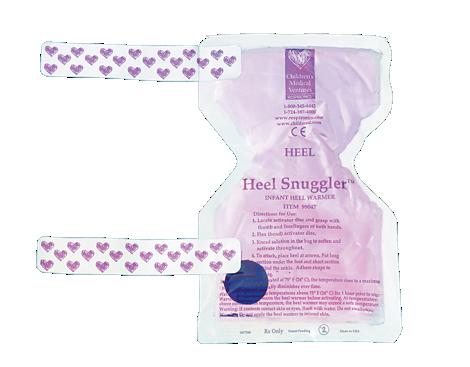 Heel Snuggler Fersenwärmer für Säuglinge in Schmetterlingsform