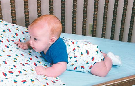 Lagerungshilfen für Säuglinge Lagerungshilfe für die erhöhte Lagerung