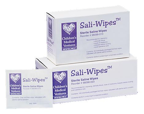 Sali-Wipes Paño con solución salina estéril