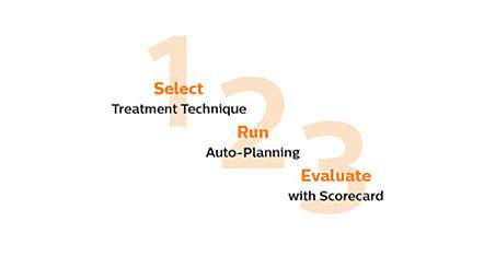 Proceso de 3 pasos:Seleccionar. Ejecutar. Evaluar.