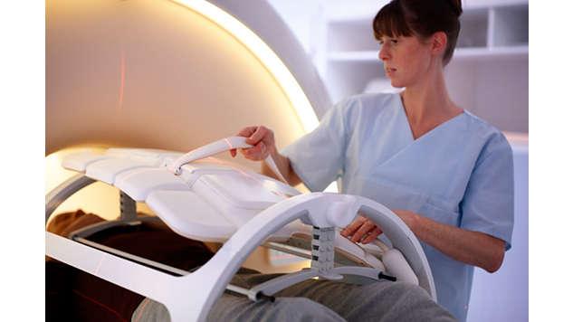 Широкий выбор РЧ-катушек для упрощения подготовки