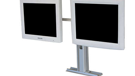 Dual Remote Flat Screen Display: Countertop Mounting Kit