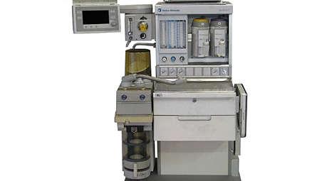 IntelliVue MX500/MX550: GE Aestiva mounting kit
