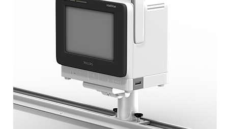 IntelliVue MX400/MX450/MX500/MX550: Horizontal Channel Mount