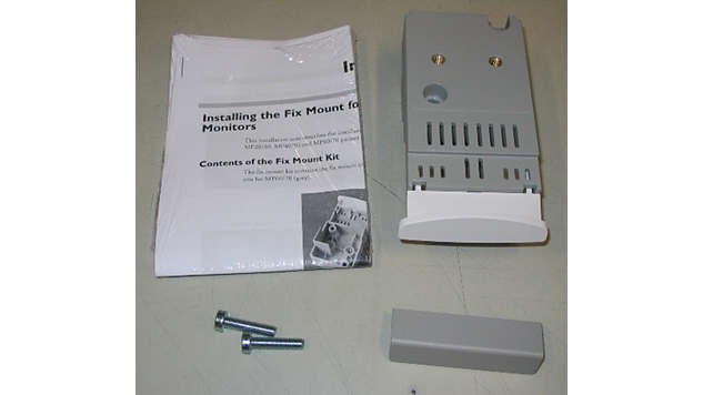 M8001-64033: Fix Mount upgrade kit for IntelliVue Patient Monitors