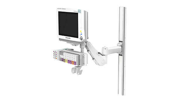 "IntelliVue MP60/70: VHM™ with 8""/20.3 cm Extension Wall Mounting Kit"