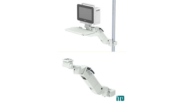 Height adjustable arm on support bar D 25-42mm