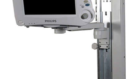 "IntelliVue MP20/30: VHC Variable Height Channel and 12""(300mm) Support Arm"