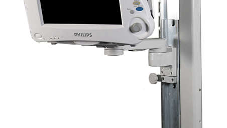 "IntelliVue MP20/30: VHC Variable Height Channel and 8""(200mm) Support Arm"