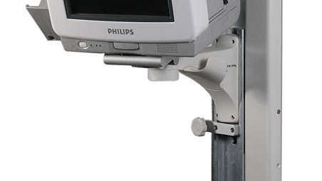 "IntelliVue MP5: VHC Variable Height Channel and 6""(150mm) Fixed Support Arm"