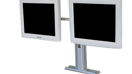 Avalon Fetal Monitor FM40/50 Dual Remote Display: Countertop Mounting Kit