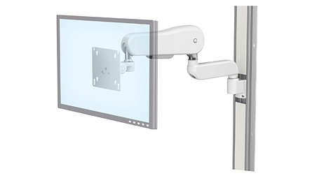 Flat Panel: VHM-25™ with Horizontal Extension Channel Mount Arm*