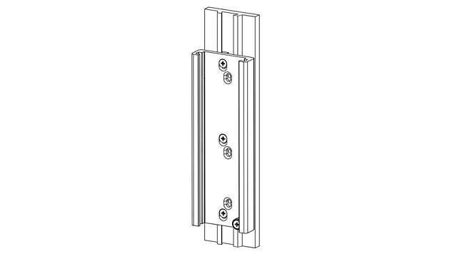 Headwall Vertical Dovetail Track Mounting Option*