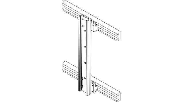 Headwall Horizontal Dual Track Mounting Option*