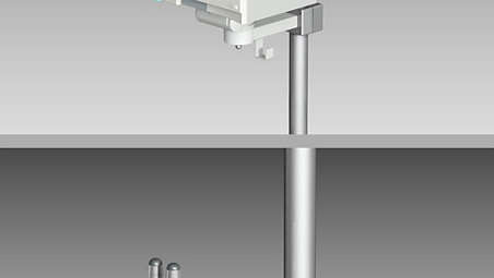 ITD mounting solution for EGM