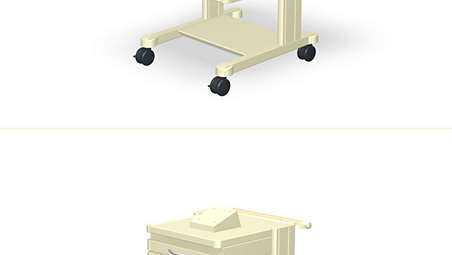 FM20/30-Cart 3D: Mounting Kit
