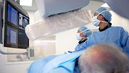 Sistema intervencionista AlluraClarity FD20: imágenes 3D en oncología intervencionista