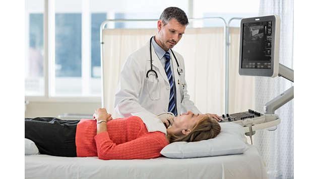Визуализация кровотока с высоким разрешением: функция FloVue