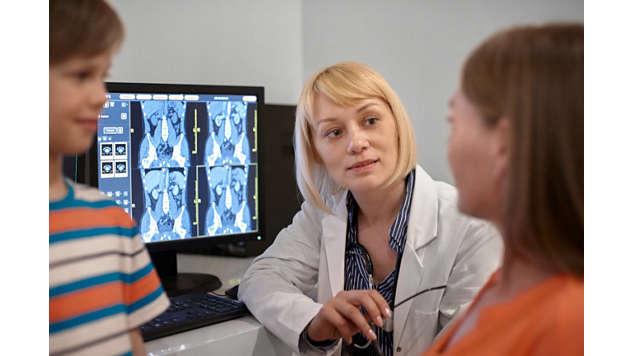 Veja mais detalhes em uma grande variedade de tipos de pacientes