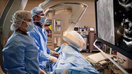 Right when you need it, integrated ultrasound