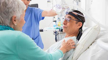 Adapts to different ventilators