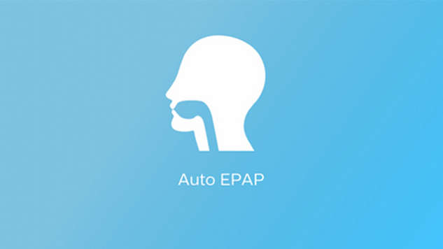 Auto EPAP for upper airways patency