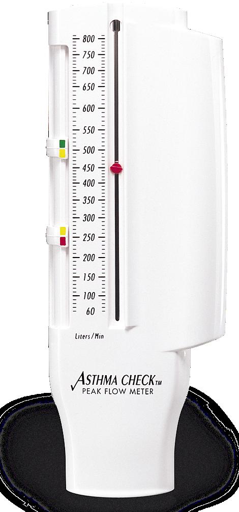 AsthmaCheck Peak flow meter
