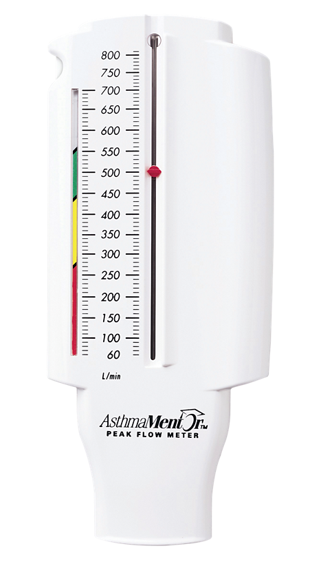 AsthmaMentor Peak flow meter